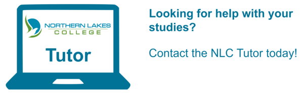 Looking for help with your studies? Contact the NLC tutor today!